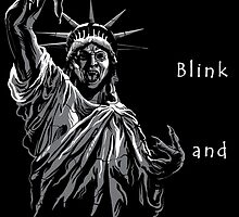 Don't Blink - Liberty Statue Doctor Who by Mellark90