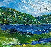 White water in Kenmare  Kerry by Conor Murphy