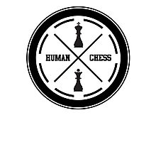 human chess Photographic Print