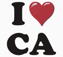 I Love CA by ColaBoy