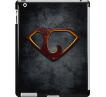 """The Letter L in the Style of """"Man of Steel"""" iPad Case/Skin"""