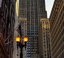 South La Salle Street Chicago by Roger Passman