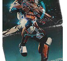 Destiny Titan Design  by MikuBear