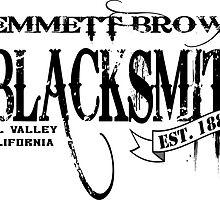 Doc Brown Blacksmith by nickpugh7