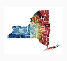 New York - Map By Sharon Cummings Kids Clothes