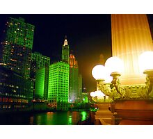 Christmas in Chicago  Photographic Print