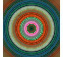 Vivid Peace - Circle Art By Sharon Cummings Photographic Print
