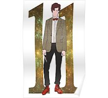The Eleventh Doctor.  Poster