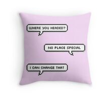 No Place Special Throw Pillow