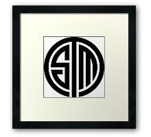 Team Solo Mid Logo Framed Print