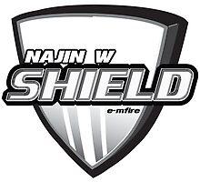Najin White Shield Chest Logo ! by Ba Loi  Xin