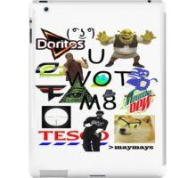 U WOT M8 Montage Parody (Dress Code Safe) iPad Case/Skin