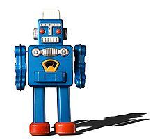 Azure robot by rayperezarts