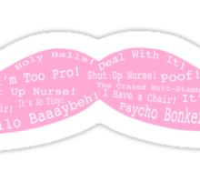 Markiplier Quotes on a Warfstache Sticker