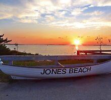 Jones Beach Sunset by Barbny