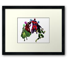 Magneto's Family Framed Print