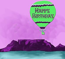 Happy Birthday Table Mountain by eleventimes