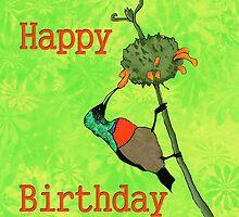 Happy Birthday Sunbird by eleventimes