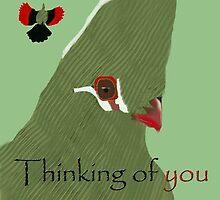 Thinking of you Knysna Lourie by eleventimes