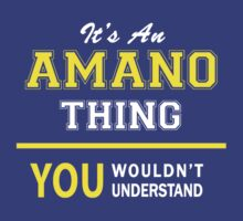 It's An AMANO thing, you wouldn't understand !! by satro