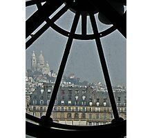 D'Orsay views the Sacre Coeur  Photographic Print