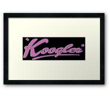 Koogler Framed Print