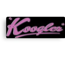 Koogler Canvas Print