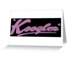 Koogler Greeting Card