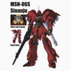 MSN-06S Sinanju continue love by benyuenkk