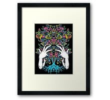 Escaping The Cell Framed Print