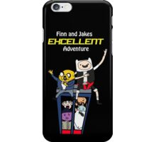 Finn and Jakes Excellent Adventure Time iPhone Case/Skin