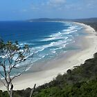 Byron Bay Coastline by Sandra  Sengstock-Miller