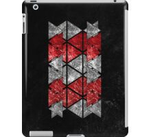 Red Triangle Stack iPad Case/Skin