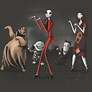 Thriller before Christmas by 2mzdesign
