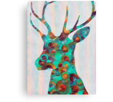 Deer One Canvas Print