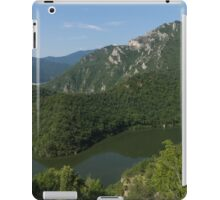 Green, Green and Green - the Water, the Mountains, the Trees iPad Case/Skin