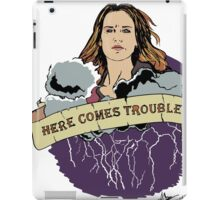 Haven - Mara (Here Comes Trouble) iPad Case/Skin