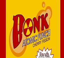 Bonk Atomic Punch Iphone Case by Itchytoenail