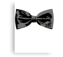 Bow Tie (Straight) Canvas Print