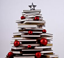 "XMAS BOOK TREE ~ OMG Sold  ""166"" of these YAY !!! by Nina  Matthews Photography"