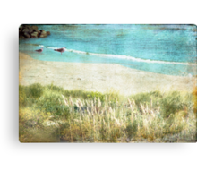Colours by the Sea Canvas Print