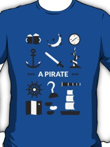 Once Upon A Time - A Pirate T-Shirt