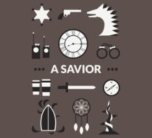 Once Upon A Time - A Savior Kids Clothes