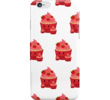 Strawberry Cupcake Family (Pattern) iPhone Case/Skin