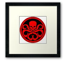 Marvel - Hail Hydra Logo Framed Print