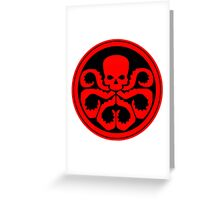 Marvel - Hail Hydra Logo Greeting Card