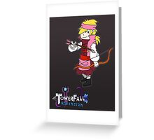 Towerfall Ascension - Assassin Prince Greeting Card
