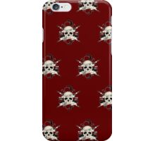 Bad 2 The Bones (Pattern 3) iPhone Case/Skin