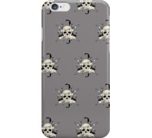 Bad 2 The Bones (Pattern 2) iPhone Case/Skin