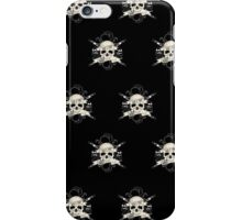 Bad 2 The Bones (Pattern) iPhone Case/Skin